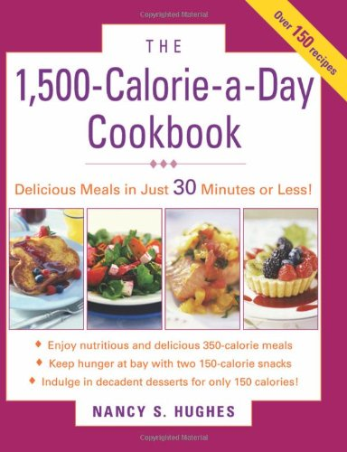 The 1,500-Calorie-A-Day Cookbook 9780071543859