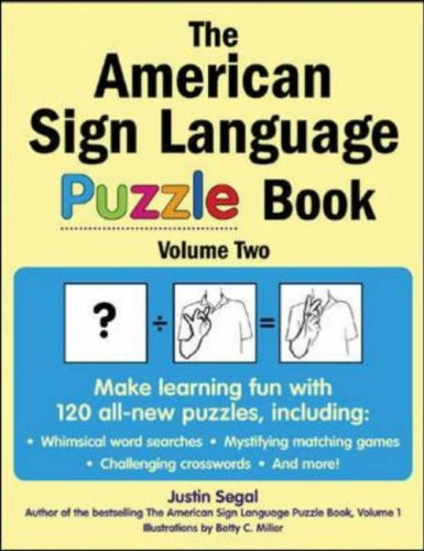 The American Sign Language Puzzle Book, Volume 2 9780071475952