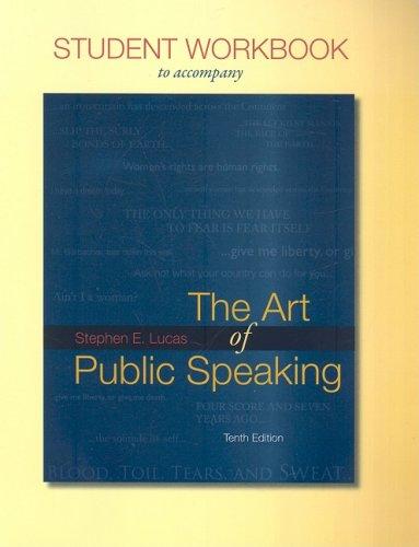 The Art of Public Speaking 9780077262310