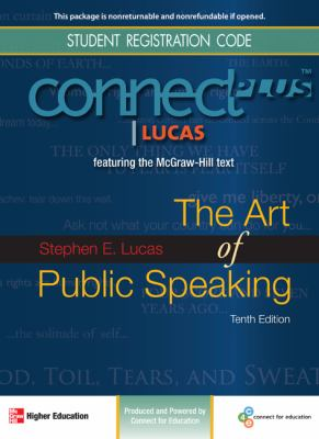 The Art of Public Speaking Student Registration Code 9780077295455