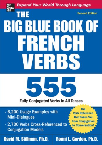 The Big Blue Book of French Verbs, Second Edition 9780071591485