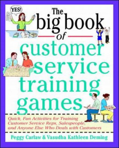 The Big Book of Customer Service Training Games 9780070779747