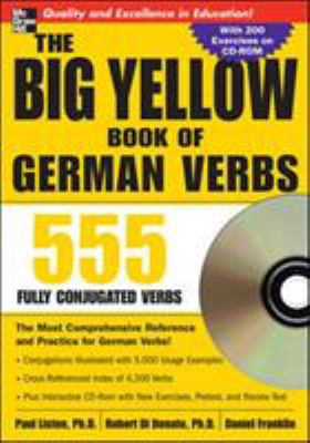 The Big Yellow Book of German Verbs [With CDROM] 9780071487580