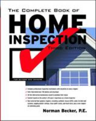 The Complete Book of Home Inspection 9780071391252