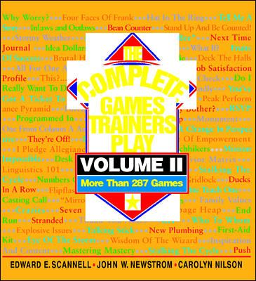 The Complete Games Trainers Play, Volume II 9780070466074