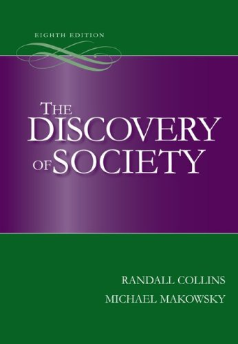 The Discovery of Society 9780073404196
