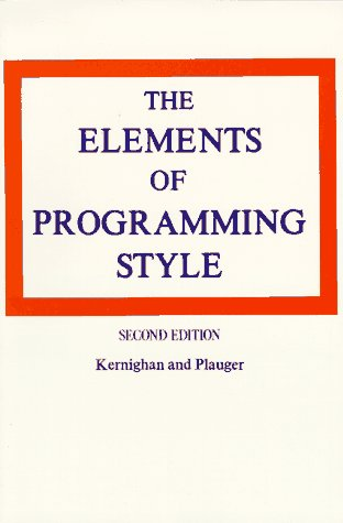 The Elements of Programming Style 9780070342071