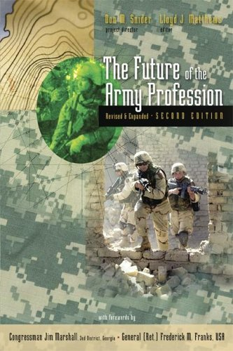 Lsc the Future of the Army Profession, Revised and Expanded Second Edition 9780073536095