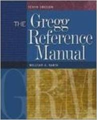 The Gregg Reference Manual: A Manual of Style, Grammar, Usage, and Formatting 9780072936537