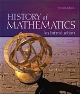 The History of Mathematics: An Introduction 9780073383156