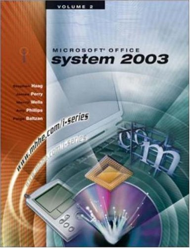 The I-Series Microsoft Office 2003 Volume 2 9780072830514