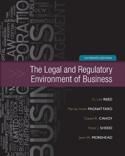 The Legal and Regulatory Environment of Business 9780073524993