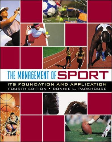 The Management of Sport: Its Foundation and Application with Powerweb Bind-In Card 9780072985467