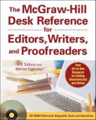 The McGraw-Hill Desk Reference for Editors, Writers, and Proofreaders [With CDROM] 9780071470001