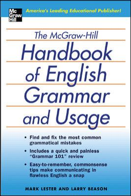 The McGraw-Hill Handbook of English Grammar and Usage 9780071441339