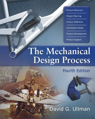 The Mechanical Design Process 9780072975741