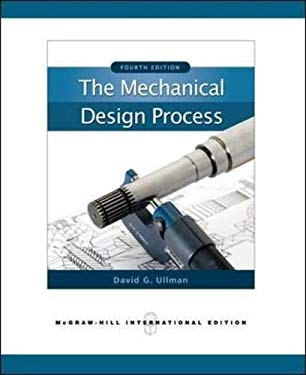The Mechanical Design Process 9780071267960