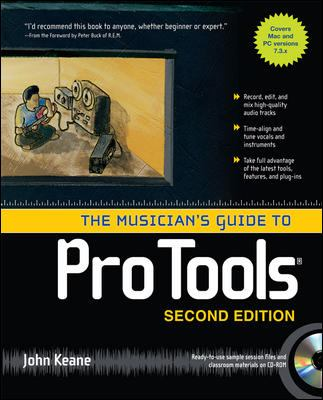 The Musician's Guide to Pro Tools [With CDROM] 9780071497428