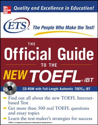 The Official Guide to the New TOEFL iBT [With CDROM] 9780071481045