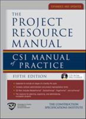 The Project Resource Manual (Prm): Csi Manual of Practice, 5th Edition 9780071370042