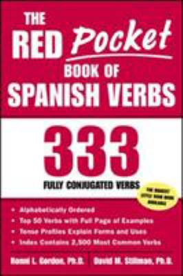 The Red Pocket Book of Spanish Verbs: 333 Fully Conjugated Verbs 9780071421621