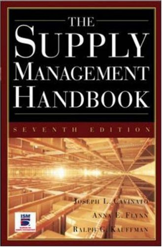 The Supply Mangement Handbook, 7th Ed - 7th Edition