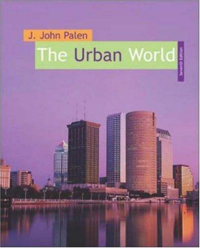 The Urban World 9780072875416