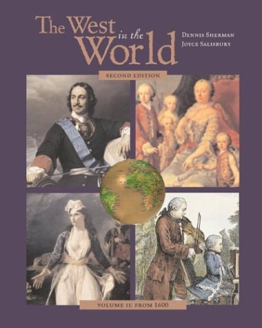 The West in the World, Volume II, MP with Atfi Envisioning the Atlantic World and Powerweb 9780072878325