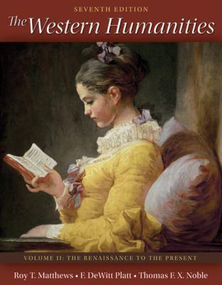 The Western Humanities Volume 2