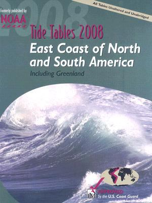 Tide Tables: East Coast of North and South America Including Greenland 9780071490788