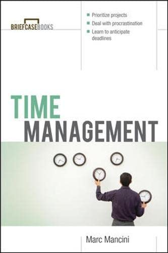Time Management 9780071406109