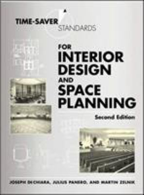 Time-Saver Standards for Interior Design and Space Planning 9780071346160