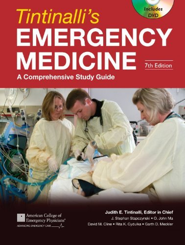 Tintinalli's Emergency Medicine: A Comprehensive Study Guide [With DVD]