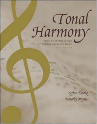 Tonal Harmony 9780072852608