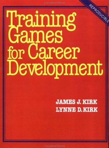 Training Games for Career Development 9780070347908
