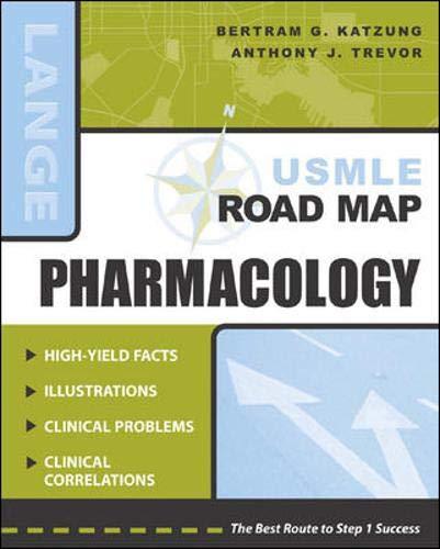 USMLE Road Map Pharmacology 9780071399302