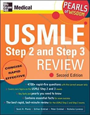 USMLE Step 2 and Step 3 Review: Pearls of Wisdom, Second Edition: Pearls of Wisdom 9780071464550
