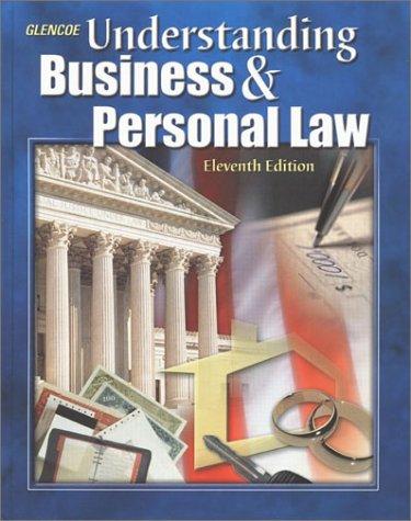 Understanding Business & Personal Law 9780078266096