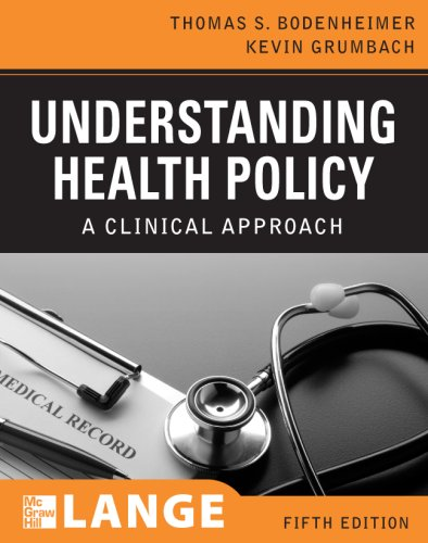 Understanding Health Policy: A Clinical Approach 9780071496063