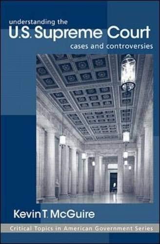 Understanding the U.S. Supreme Court 9780072337310