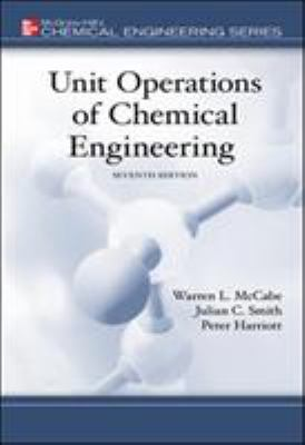 Unit Operations of Chemical Engineering 9780072848236