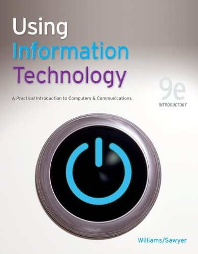 Using Information Technology 9e Introductory Edition 9780077331085
