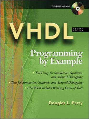 VHDL: Programming by Example [With CDROM] 9780071400701
