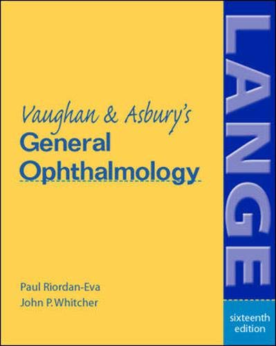Vaughan & Asbury's General Ophthalmology 9780071378314