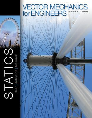 Vector Mechanics for Engineers: Statics + Connectplus Access Card 9780077889708
