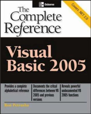 Visual Basic 2005: The Complete Reference 9780072260335