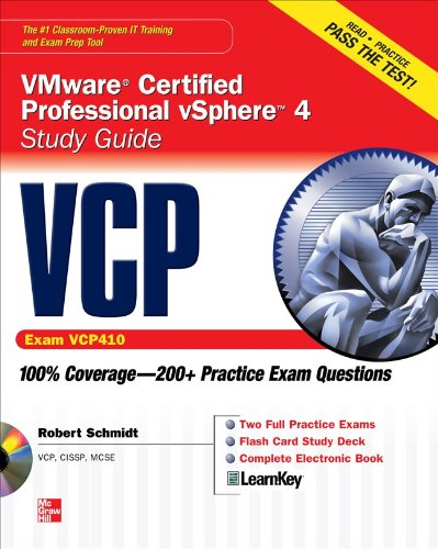 VCP VMware Certified Professional vSphere 4 Study Guide (Exam VCP410) [With CDROM] 9780071633680