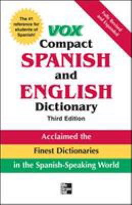 Vox Compact Spanish and English Dictionary 9780071499521