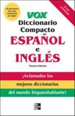 Vox Diccionario Compacto Espanol E Ingles 9780071499491