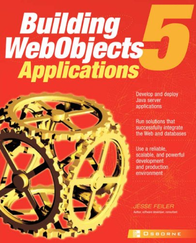 WebObjects 5 for Java: A Developer's Guide 9780072130881